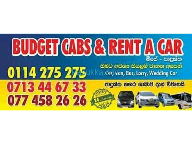 Budget cabs and rent a car